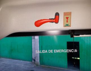 Empresa Gilsanz - Medidas de seguridad - Salidas de emergencia